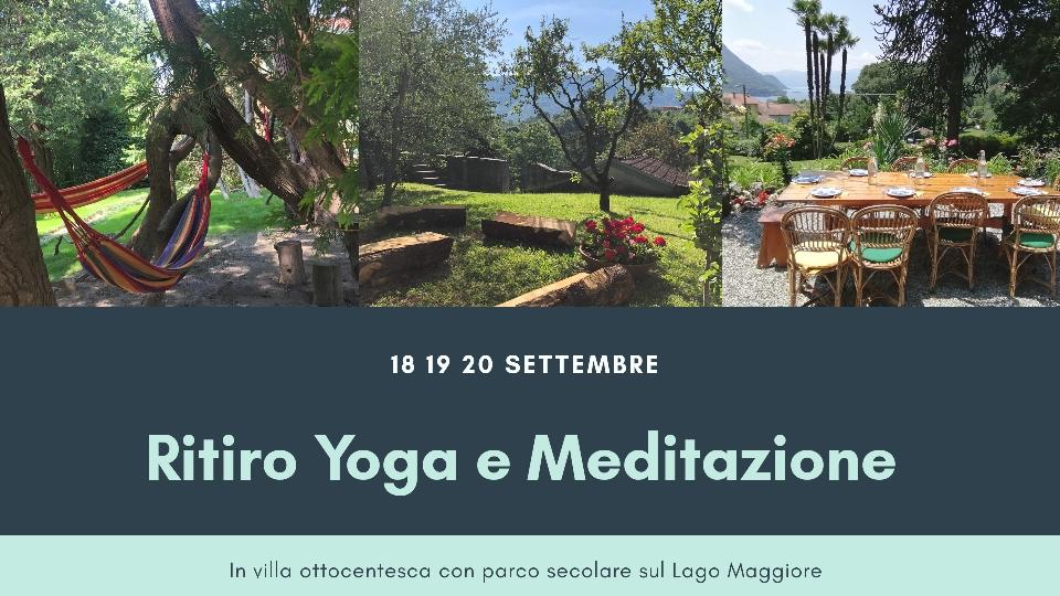 18-20 settembre: Ritiro Yoga e Meditazione