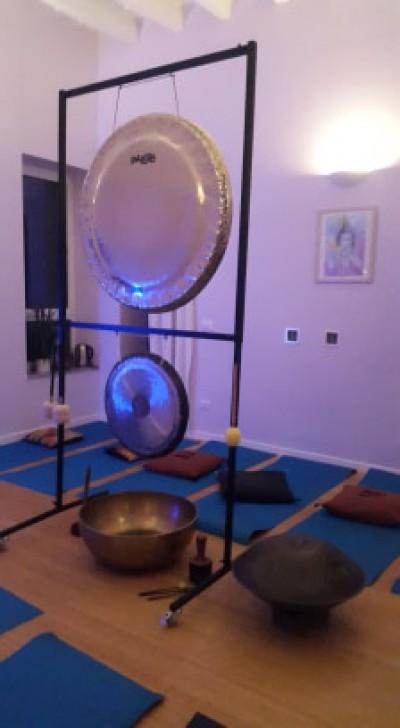 Sabato 2 Novembre ore 18:00: Bagno di Gong e Viaggio sonoro