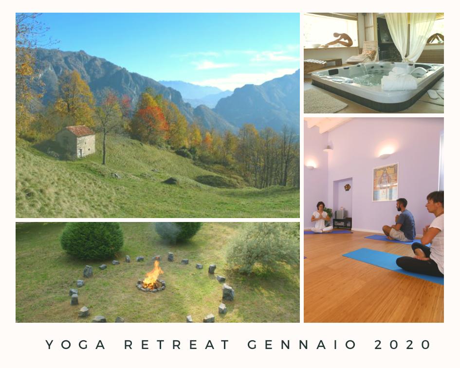 Ritiro Yoga Natura Spa & more: dal 2 al 6 gennaio