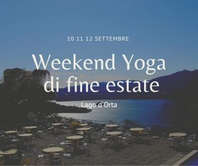 Weekend Yoga di fine estate (10-11-12 Settembre 2021)