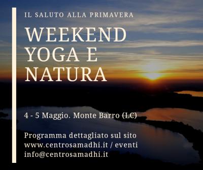 4-5 Maggio2020: Weekend Yoga e Natura al Monte Barro (LC)